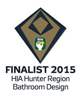 Finalist 2015 Hunter Bathroom Design