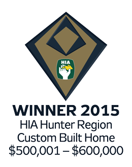 Winner 2015 Hunter Custom Built Home $500,001-$600,000