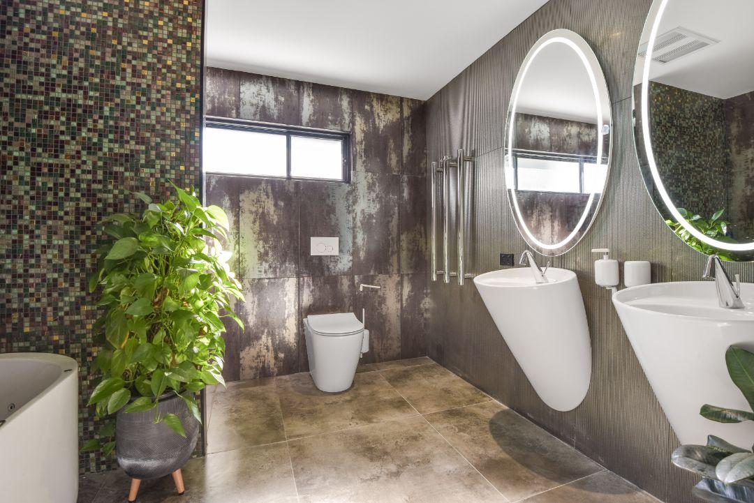 Bathroom of Central Coast custom built house